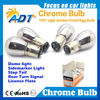 Amber color 1156 ba15s 1157 chrome light bulbs