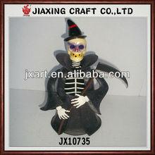 handmade metal halloween man in halloween day