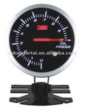 AUTO OIL PRESSURE GAUGE auto parts auto gauge volt water temp oil temp oil press R.M.P gauge tachometer vacuum boos text temp A/