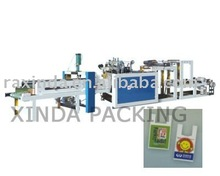 Plastic T shirt bag / shopping bag making machine