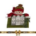 acondicionador para el cabello en navidad muñeco de nieve de juguete