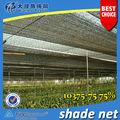 75% de efecto invernadero de punto Net Shade Con protección UV Para Vegetal