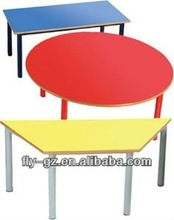 kids study table design/kindergarten kids school furniture