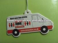 Customized Design Hanging Paper Aroma Card
