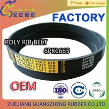 correa poly v belt /fan belt PK PJ PL 6pk1295 All Kind Of Belting