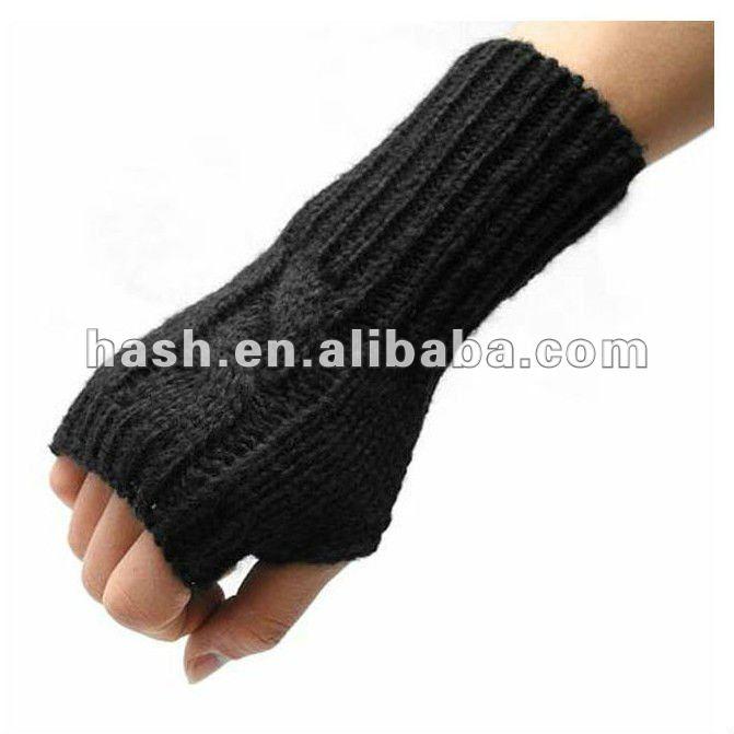 Como hacer guantes sin dedos - Imagui