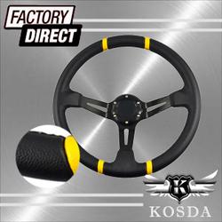 350mm Sport Drift Steering Wheel (PVC)