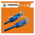 utp patch cable cat5e 4pr 24 awg cable de red