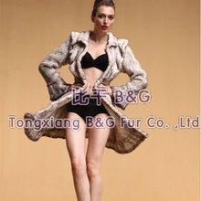 bg20092 nuovo stile da donna maglia pelliccia di visone