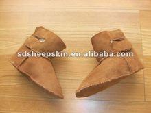 2014 New Type Sheepskin Baby Shoes