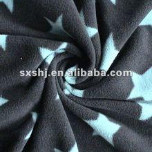 Polyester FDY Printed Star Print Polar Fleece fabrics