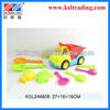 9pcs bright lady outdoor toy plastic children beach toys