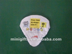 PVC Plastic Bicycle Seat Cover;Promotional Bike Saddle Cover