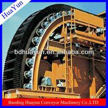raised edge conveyor belt