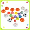 Hi bounce ball, rubber high bouncing ball picture