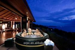 MSpa Inflatable Portable Spa, 6 person Hot Tub, Luxury Exotic B-151