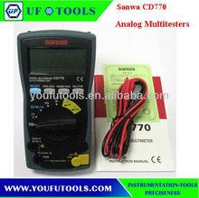 Sanwa CD770 3-3/4 Digital Multimeter 600V(4000 counts ) dmm
