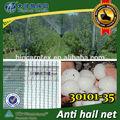 ( Shanghai fábrica ) nueva llegada 2013, Hdpe agricultura Hail guardia / 30101 - 35