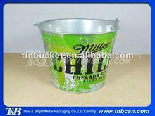 Beautiful paint galvanized Ice Bucket