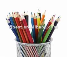 "7"" high quality wooden color pencil,12 color wooden pencil"