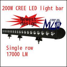 "37"" Cree off road led light bar 200w ,20pcs*10w high intensity Cree LEDs,4x4 ,offroad car, 4WD,Jeep,Truck,CE,IP"