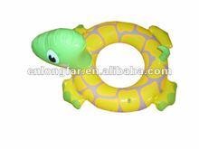 Factory inflatable swim floating ring turtle animal shape..
