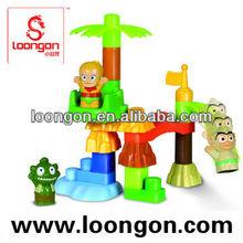 LOONGON Monkey King Animation Toy Block Set