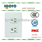 Panosonic old type 2gang wall america socket outlet for philippine