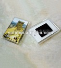 Rectange photo frame with magnets