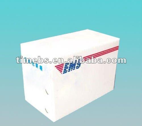 Papelão ondulado de alta qualidade plástico caixa de correio