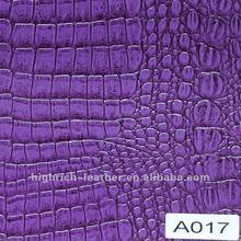 New crocodile leather sofa embossed for hangbag and sofa