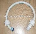40cm de pvc flexible de la manguera, flexible de pvc de agua de conexión de tuberías