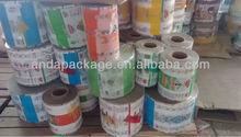 food grade plastic lamination films roll for packaging films