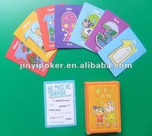 Enfants papier cartes à jouer jeu avec une qualité supérieure