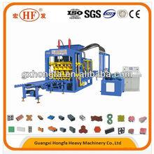 QT6-15B automatic brick making machine, cement block making machine, block brick machine in myanmar