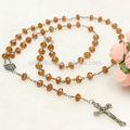 della lega cattolica rosario di plastica collana croce