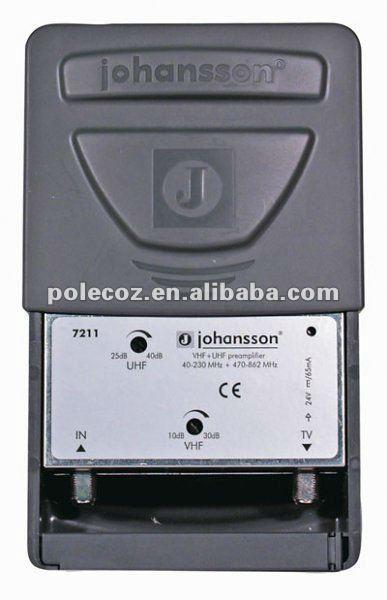 TV antenna signal amplifier