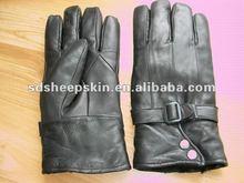 2012 Men's Sheepskin Leather Gloves G157