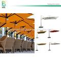Heavy duty al aire libre tienda de campaña con luz agua/base de arena con estilo off set paraguas