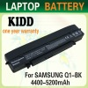Replacement laptop battery for samsung Q1 NP-Q1-M000, Q1 , Q1-900 , Q1-900 Q1B, Q1P, Q1P SSD
