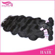 Top quality and natural color,100% virgin Malaysian human hair 97-100g/pcs, no knot