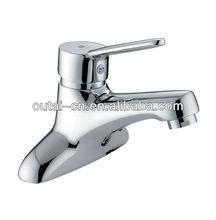 Brass Single Handle 2 Hole Basin Faucet/Double Hole Basin Mixer Taps OT-8202