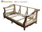 hot sale antique classical wood sofa frame,show wood (EFS-203)