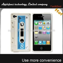 2014 new magnetic tape silicone case for iphone 4,silicone panda case for iphone 4,3d silicone case for iphone 4