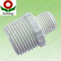 De alta calidad! De plástico( pvc)instalación de tuberías reductor de hombres/adaptador