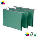 Suspensión de papel carpeta de archivo, a4 tamaño, 25/box, estándar de color verde