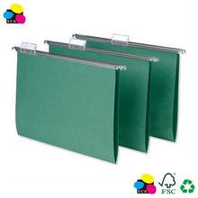 Paper Suspension File Folder, A4 size, 25/box, Standard Green