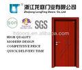 Rua preço porta de madeira interior lts-103