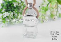 5ml hot sale hanging Car perfume bottle