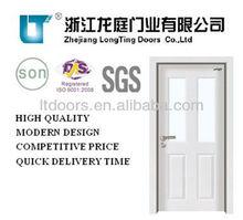HIGH QUALITY Interior Steel Wooden Door WITH WINDOWS LTG-202